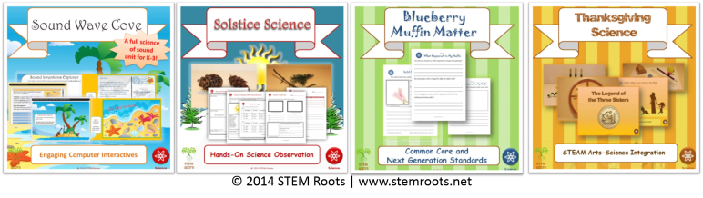 Some of my NGSS/STEM lesson plans available on my  TpT store.